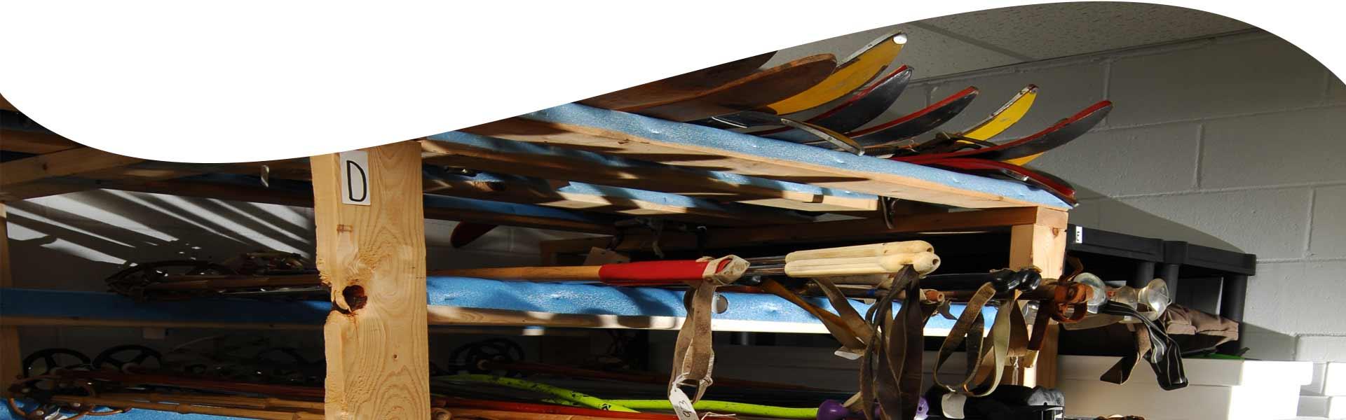 Musée du ski - Don en matériel