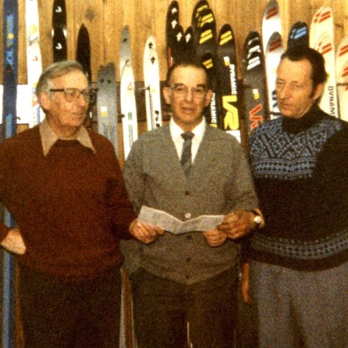 Fondateurs/ founders : Jacques Beauchamps,  Bernard Brazeau,  Fernand Trottier*