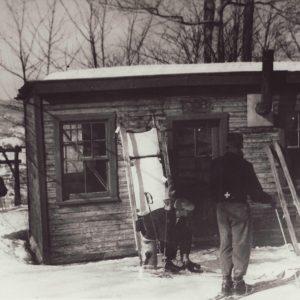 Patrol shack, c. 1950, St-Sauveur