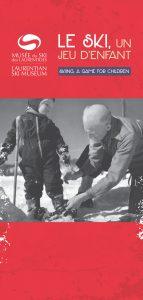 Le ski, un jeu d'enfant
