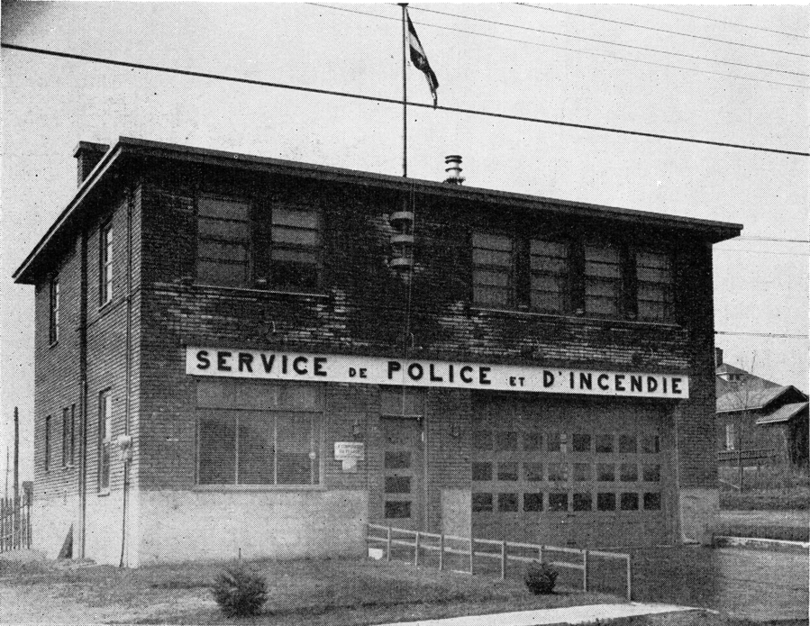 Police and fire station